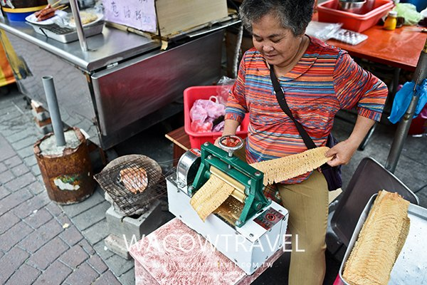 小琉球美食-秀卿媽媽手工魷魚店